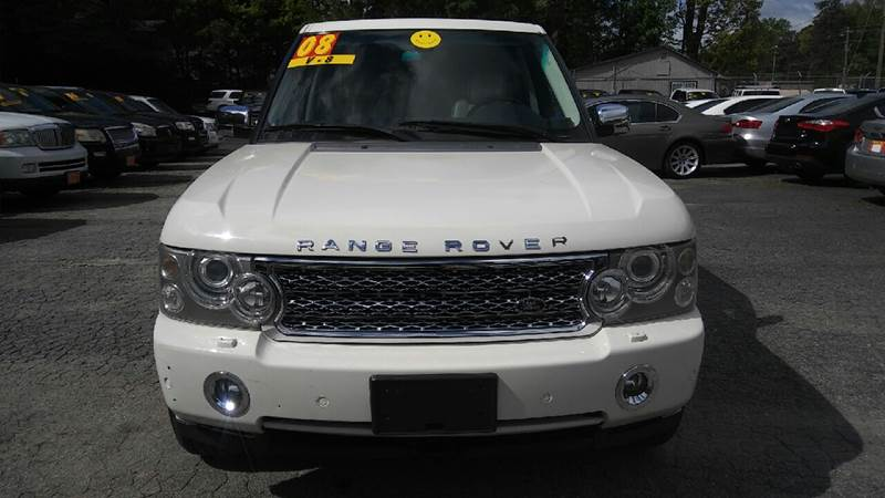 2008 LAND ROVER RANGE ROVER SUPERCHARGED 4X4 4DR SUV cream 2-stage unlocking doors 4wd selector