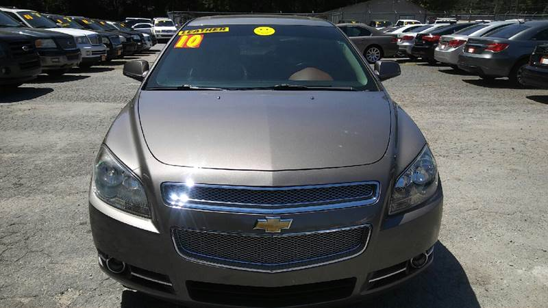 2010 CHEVROLET MALIBU LTZ 4DR SEDAN gray 2-stage unlocking doors abs - 4-wheel airbag deactivat