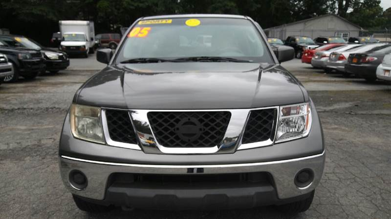 2008 NISSAN FRONTIER SE V6 4X2 4DR CREW CAB 50 FT S gray abs - 4-wheel active head restraints