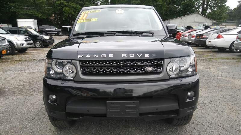 2011 LAND ROVER RANGE ROVER SPORT HSE 4X4 4DR SUV black 2-stage unlocking doors 4wd selector - e