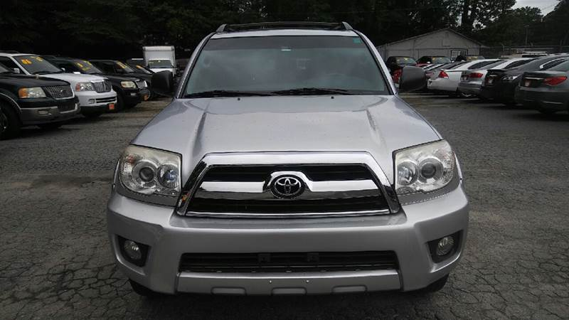 2006 TOYOTA 4RUNNER SR5 4DR SUV WV6 silver abs - 4-wheel air filtration airbag deactivation -