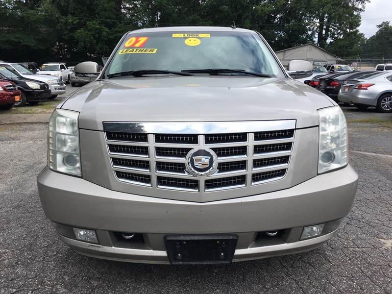 2007 CADILLAC ESCALADE BASE AWD 4DR SUV gray 152448 miles VIN 1GYFK638X7R174988