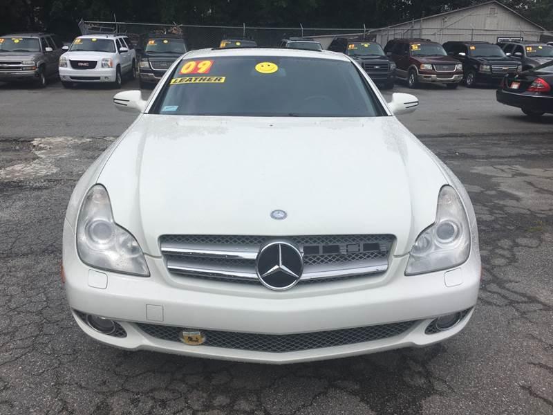 2009 MERCEDES-BENZ CLS CLS 550 4DR SEDAN white exhaust tip color - chrome grille color - black w