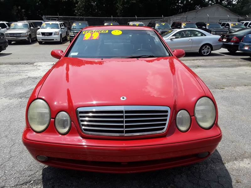 1999 MERCEDES-BENZ CLK CLK 430 2DR COUPE red front air conditioning front air conditioning - aut