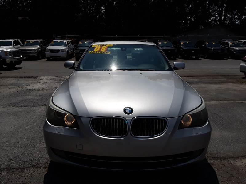 2008 BMW 5 SERIES 535I 4DR SEDAN LUXURY silver 133556 miles VIN WBANW13528CZ74152