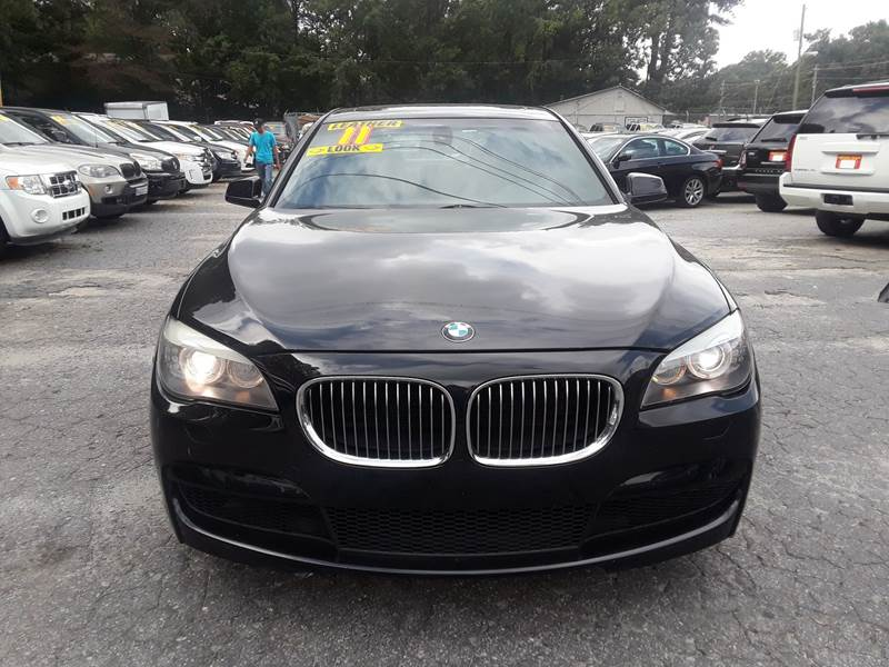 2011 BMW 7 SERIES 740I 4DR SEDAN blue door handle color - body-color front bumper color - body-c