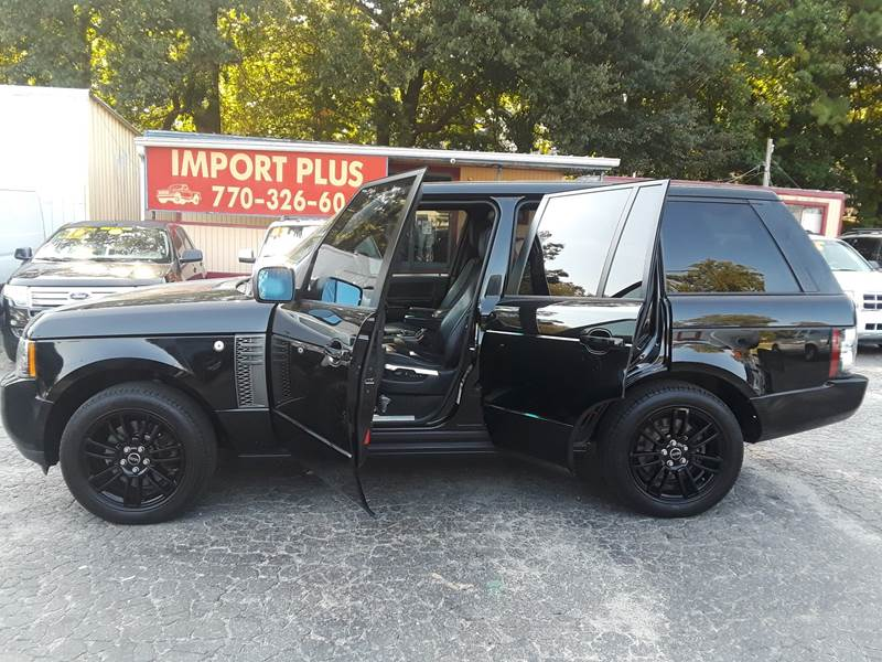 2012 LAND ROVER RANGE ROVER HSE 4X4 4DR SUV