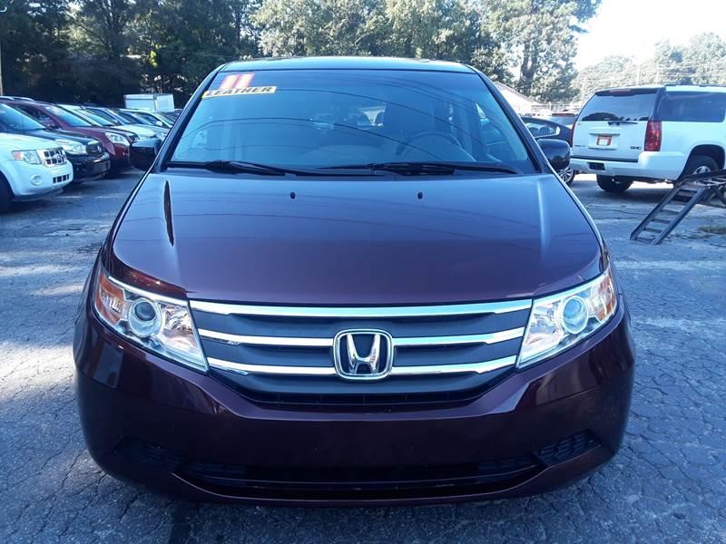 2011 HONDA ODYSSEY EX L 4DR MINI VAN maroon door handle color - chrome front bumper color - body