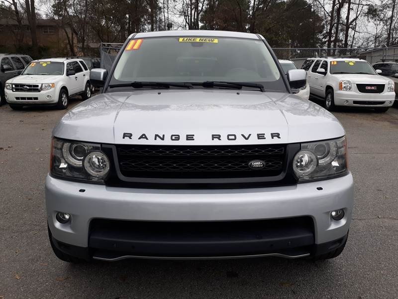 2011 LAND ROVER RANGE ROVER SPORT SUPERCHARGED 4X4 4DR SUV