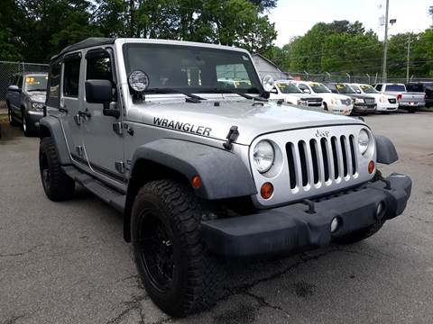 2011 Jeep Wrangler Unlimited for sale in Norcross, GA
