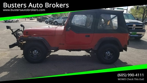 1989 Jeep Wrangler for sale in Mitchell, SD