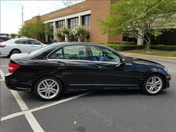 2014 Mercedes-Benz C-Class for sale at C & J International Motors in Duluth GA