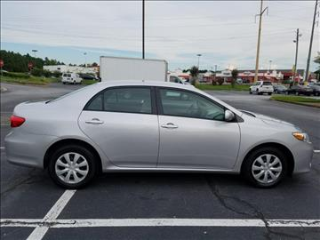 2011 Toyota Corolla for sale at C & J International Motors in Duluth GA
