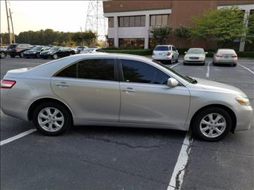 2011 Toyota Camry for sale at C & J International Motors in Duluth GA