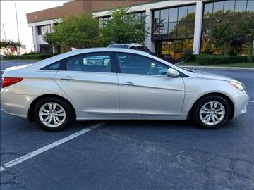 2013 Hyundai Sonata for sale at C & J International Motors in Duluth GA