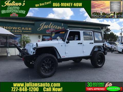 2016 Jeep Wrangler Unlimited for sale in New Port Richey, FL