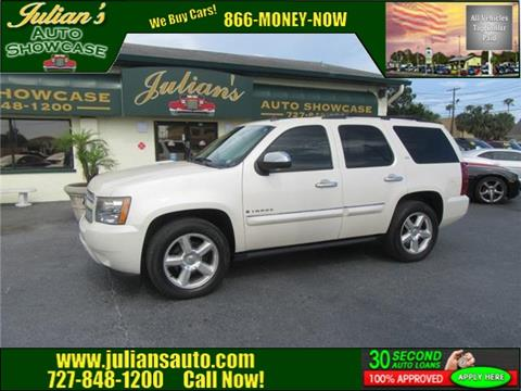 Julians Auto Showcase >> Used Chevrolet Tahoe For Sale In New Port Richey Fl Carsforsale Com
