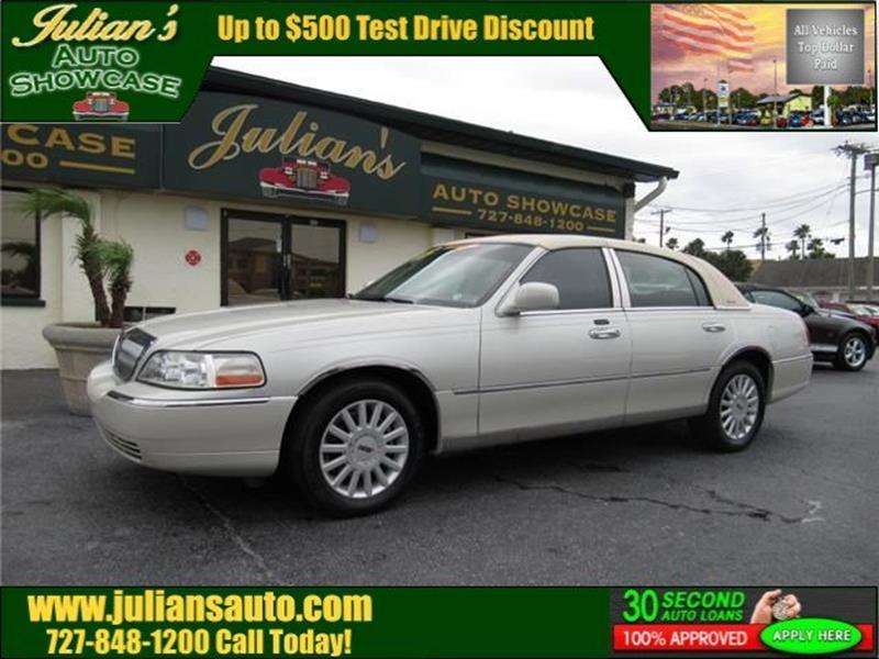 Julians Auto Showcase >> 2005 Lincoln Town Car Signature 4dr Sedan For Sale