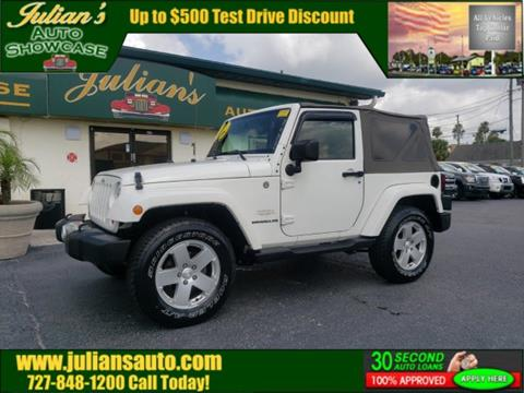 2010 Jeep Wrangler for sale in New Port Richey, FL