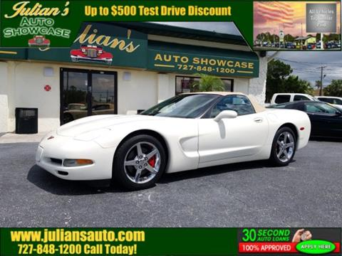 Julians Auto Showcase >> 2002 Chevrolet Corvette For Sale In New Port Richey Fl