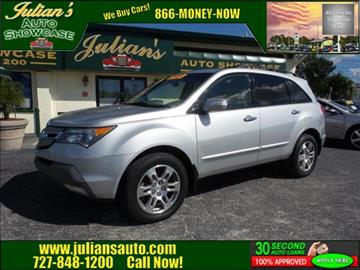 2008 Acura MDX for sale in New Port Richey, FL