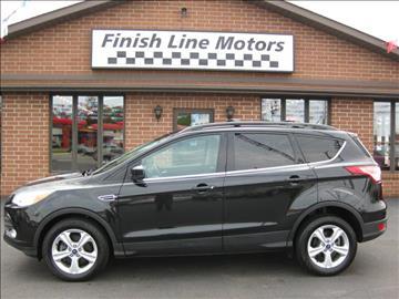 2013 Ford Escape & Ford Used Cars Pickup Trucks For Sale Canton FINISHLINE MOTORS markmcfarlin.com