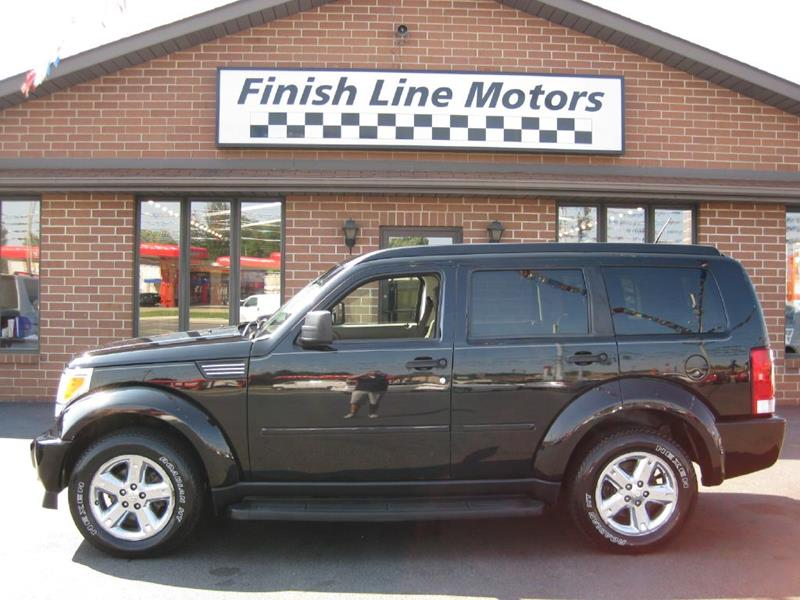 2007 Dodge Nitro 4wd Slt 4dr Suv In Canton Oh Finishline