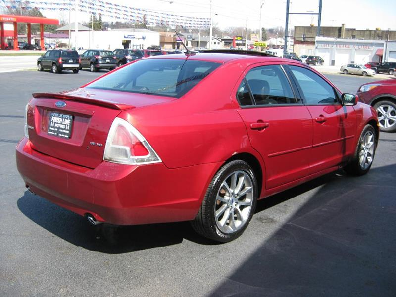 2008 Ford Fusion V6 Se 4dr Sedan In Canton Oh Finishline