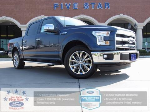 2015 Ford F-150 for sale in Carrollton, TX