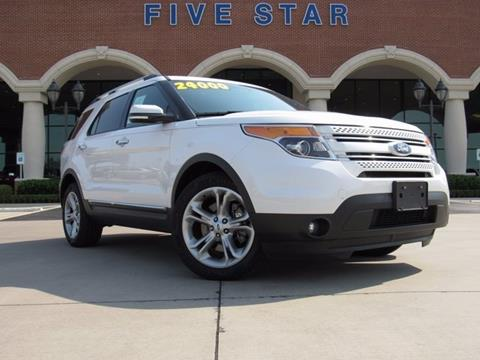 2014 Ford Explorer for sale in Carrollton, TX