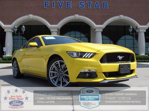 2015 Ford Mustang for sale in Carrollton TX