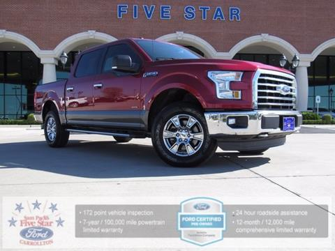 2016 Ford F-150 for sale in Carrollton, TX