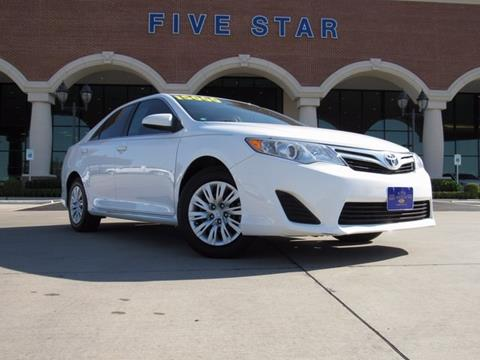 2014 Toyota Camry for sale in Carrollton, TX