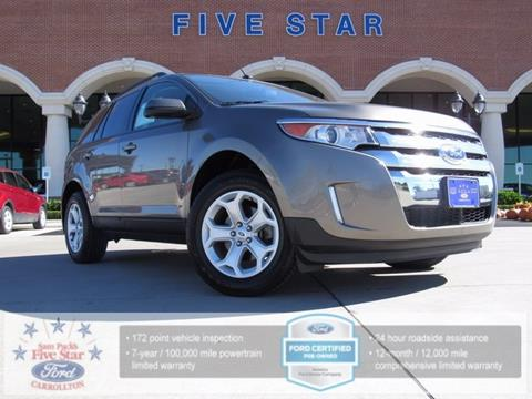 2013 Ford Edge for sale in Carrollton TX