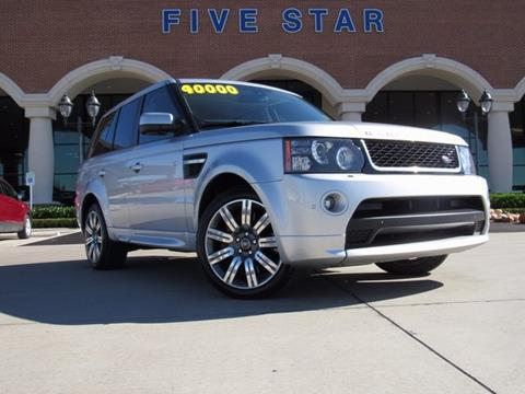 2013 Land Rover Range Rover Sport for sale in Carrollton, TX