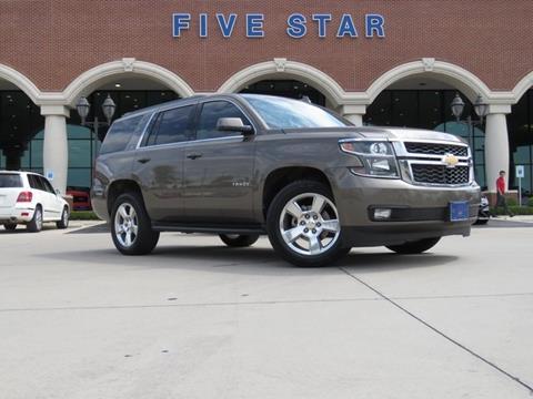 2016 Chevrolet Tahoe for sale in Carrollton, TX