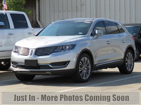 2016 Lincoln MKX for sale in Carrollton, TX