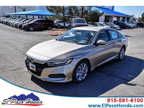 2019 Honda Accord for sale in El Paso, TX