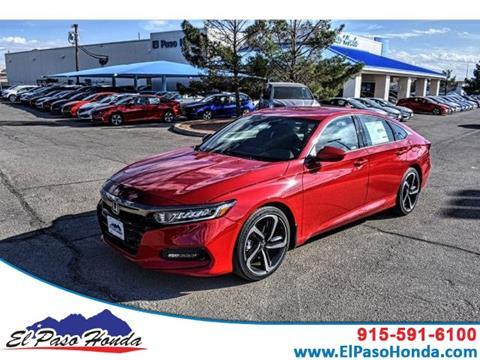 2020 Honda Accord for sale in El Paso, TX