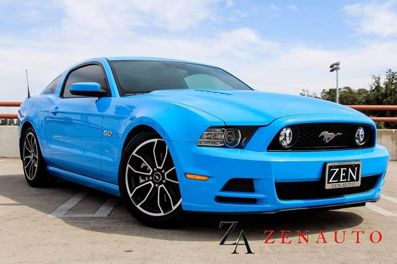 2013 Ford Mustang Gt Premium 2dr Coupe In Sacramento Ca Zen Auto Sales