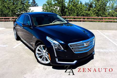 2016 Cadillac CT6 for sale at Zen Auto Sales in Sacramento CA