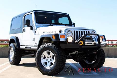 2006 Jeep Wrangler for sale at Zen Auto Sales in Sacramento CA