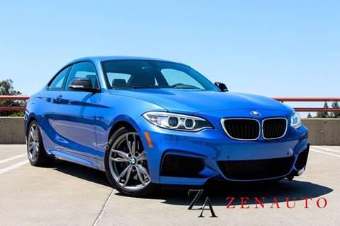 2014 BMW 2 Series for sale at Zen Auto Sales in Sacramento CA