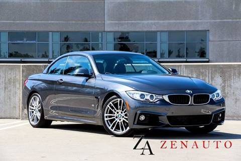 2014 BMW 4 Series for sale at Zen Auto Sales in Sacramento CA