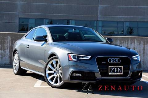 2016 Audi A5 for sale at Zen Auto Sales in Sacramento CA