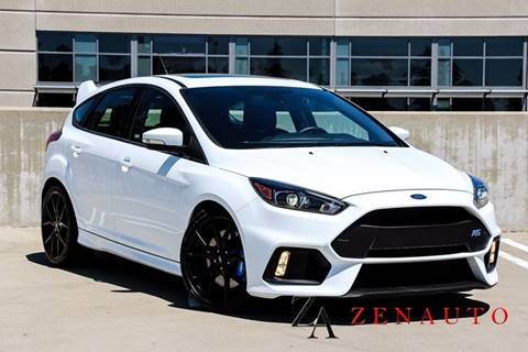 2016 Ford Focus for sale at Zen Auto Sales in Sacramento CA