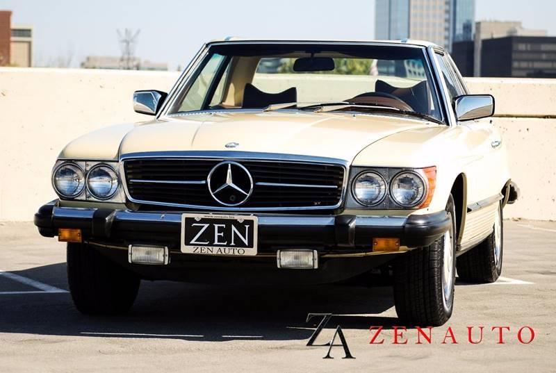 1976 mercedes benz 450 sl hardtop convertible in for Mercedes benz dealership sacramento ca