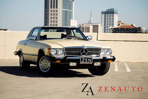 1976 Mercedes-Benz 450 SL for sale at Zen Auto Sales in Sacramento CA