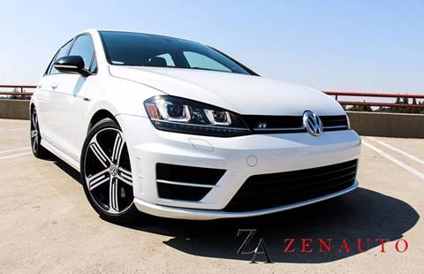 2016 Volkswagen Golf R for sale at Zen Auto Sales in Sacramento CA