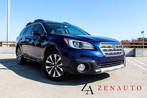 2015 Subaru Outback for sale at Zen Auto Sales in Sacramento CA